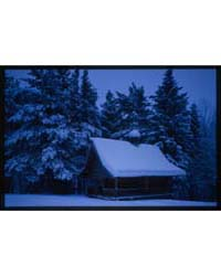 Brumfield Photographs : Log Chapel from ... by Brumfield, William Craft