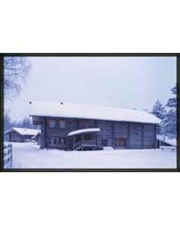 Brumfield Photographs : Log House, from ... by Brumfield, William Craft