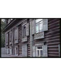 Brumfield Photographs : Log House, Cheli... by Brumfield, William Craft