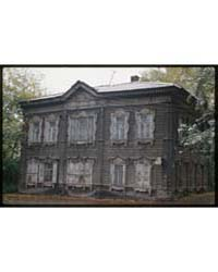 Brumfield Photographs : Wooden House, Kr... by Brumfield, William Craft