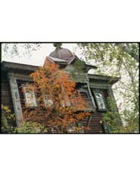 Brumfield Photographs : Log House, Kuzne... by Brumfield, William Craft