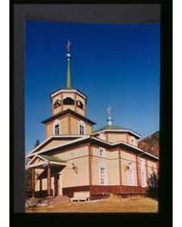 Brumfield Photographs : Log Church of Sa... by Brumfield, William Craft