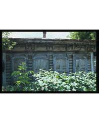 Brumfield Photographs : Log House Red Ar... by Brumfield, William Craft
