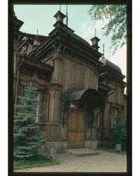 Brumfield Photographs : Wooden House Red... by Brumfield, William Craft