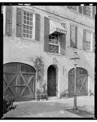 Legges House, 101 East Bay, Charleston, ... by Johnston, Frances Benjamin