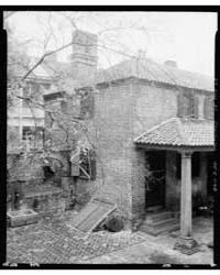 Miles Brewton House, Charleston, Charles... by Johnston, Frances Benjamin