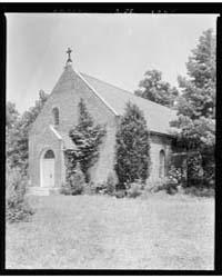 Donation Church, Lynnhaven Parish, Norfo... by Johnston, Frances Benjamin