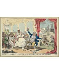 British Cartoon Prints : Merry Making on... by Cruikshank, George