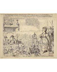 British Cartoon Prints : the Heroic Char... by Gillray, James