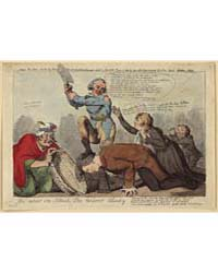 British Cartoon Prints : the Near in Blo... by Cruikshank, Isaac