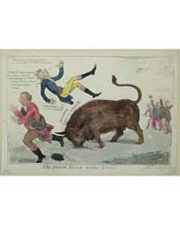 British Cartoon Prints : the Irish Bull ... by Cruikshank, Isaac
