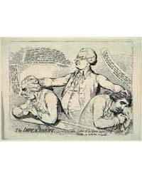 British Cartoon Prints : the Impeachment... by Gillray, James