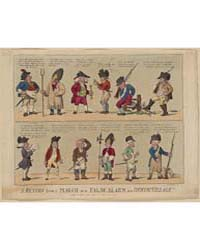 British Cartoon Prints : a Return from a... by Cruikshank, Isaac