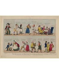 British Cartoon Prints : the Humours of ... by Cruikshank, Isaac