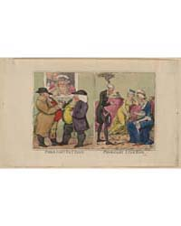 British Cartoon Prints : Pharoah's Fat K... by Cruikshank, Isaac