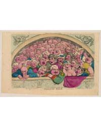 British Cartoon Prints : Pidgeon Hole a ... by Rowlandson, Thomas