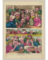 British Cartoon Prints : Comedy in the C... by Rowlandson, Thomas