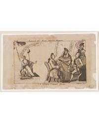 British Cartoon Prints : a Certain Cabin... by Revere, Paul