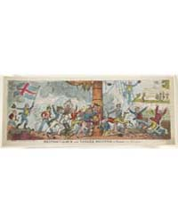 British Cartoon Prints : British Valour ... by Cruikshank, George
