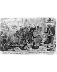 British Cartoon Prints : American Justic... by Cruikshank, George