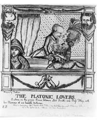 British Cartoon Prints : the Platonic Lo... by Dent, William