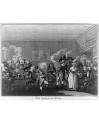 British Cartoon Prints : the Smoaking Cl... by Library of Congress