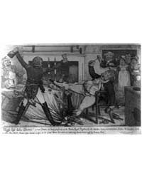 British Cartoon Prints : High Life Below... by Cruikshank, Robert