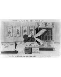 British Cartoon Prints : the Cato: of 17... by Library of Congress