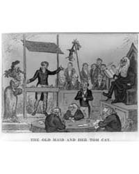 British Cartoon Prints : the Old Maid an... by Cruikshank, George