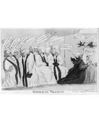 British Cartoon Prints : Behold, He Pray... by Library of Congress