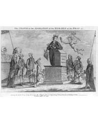 British Cartoon Prints : the Statue, or ... by Library of Congress