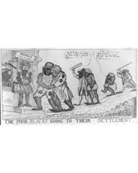 British Cartoon Prints : the Poor Blacks... by Library of Congress