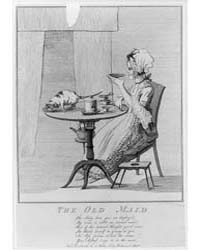 British Cartoon Prints : the Old Maid ; ... by Library of Congress