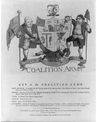 British Cartoon Prints : Coalition Arms ... by Nixon, John