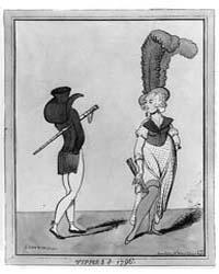 British Cartoon Prints : Tippies of 1796... by Newton, Richard