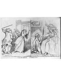 British Cartoon Prints : Contrasted Husb... by Newton, Richard