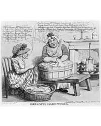 British Cartoon Prints : Dreadful Hard T... by Library of Congress