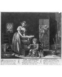 British Cartoon Prints : the Laundress ;... by Library of Congress