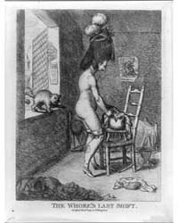 British Cartoon Prints : the Whore's Las... by Library of Congress