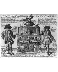 British Cartoon Prints : the Sots Coat o... by Library of Congress