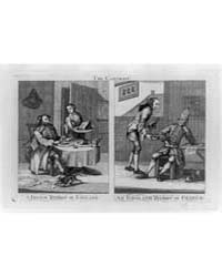 British Cartoon Prints : the Contrast a ... by Library of Congress