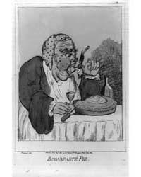 British Cartoon Prints : Buonaparté Pie ... by Woodward, G. M.