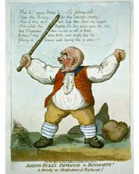 British Cartoon Prints : Johnny Bull's D... by Library of Congress