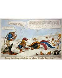British Cartoon Prints : Boney Hatching ... by Library of Congress