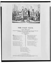 British Cartoon Prints : the Ugly Club V... by Library of Congress