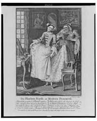 British Cartoon Prints : the Harlots Nur... by Boitard, Louis-philippe