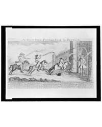 British Cartoon Prints : a Race from Pre... by Library of Congress
