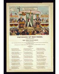 British Cartoon Prints : Panorama of the... by Library of Congress