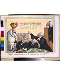 British Cartoon Prints : Cross Examinati... by Library of Congress