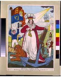 British Cartoon Prints : Queen Caroline ... by Library of Congress